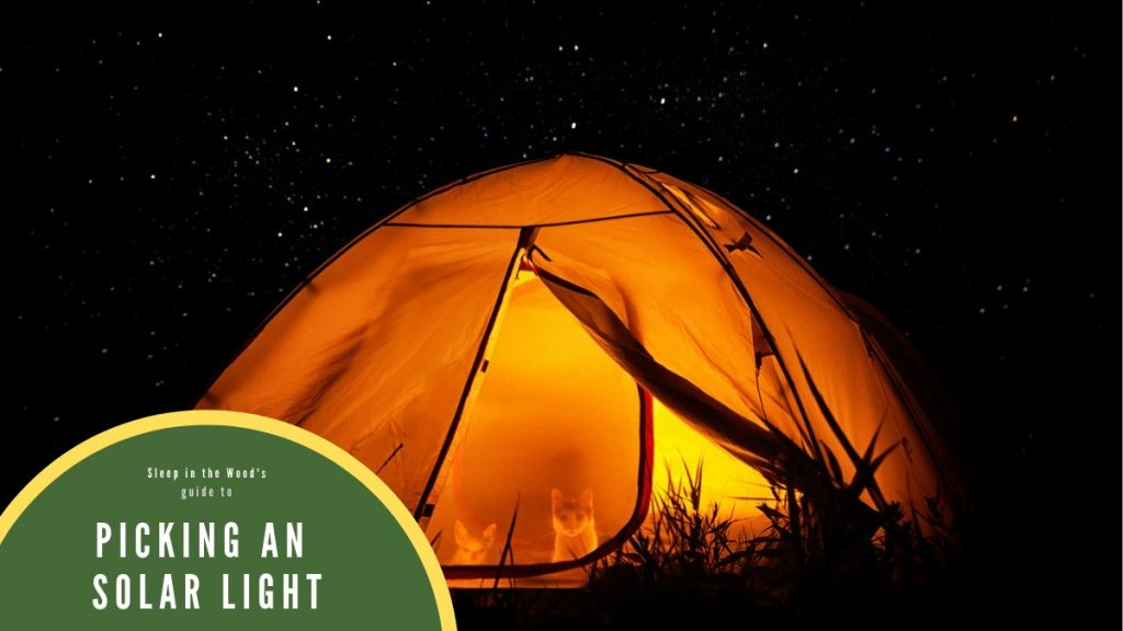 Picking Solar Camping Lights
